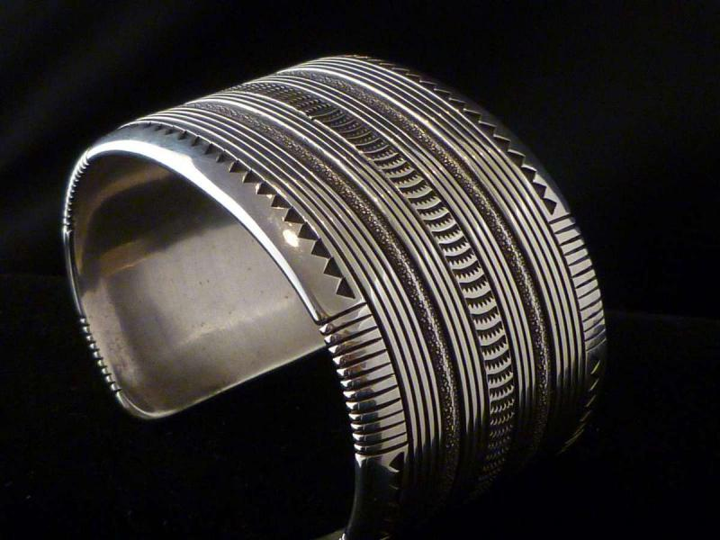 Thomas Curtis Sterling Silver Heavy Guage Wide Cuff