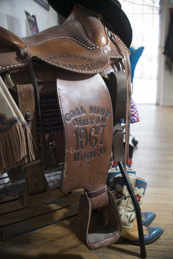 Thomas Curtis Rodeo Saddle