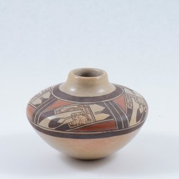 Jean Sahme Nampeyo Jar with Painted Design