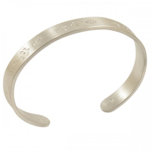 Amelia Joe Chandler Brushed Silver Bracelet