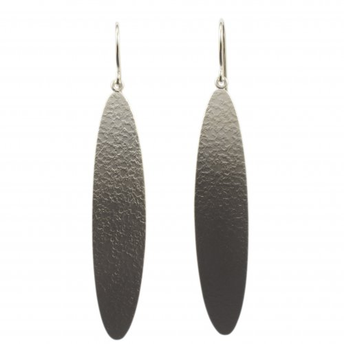 Chris Pruitt Long Silver Earring