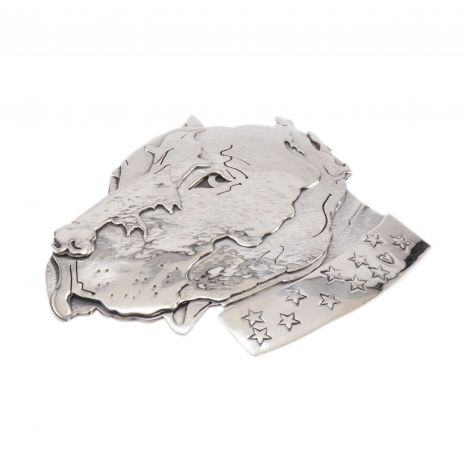 Carol Krena Sterling Silver Dog Pin