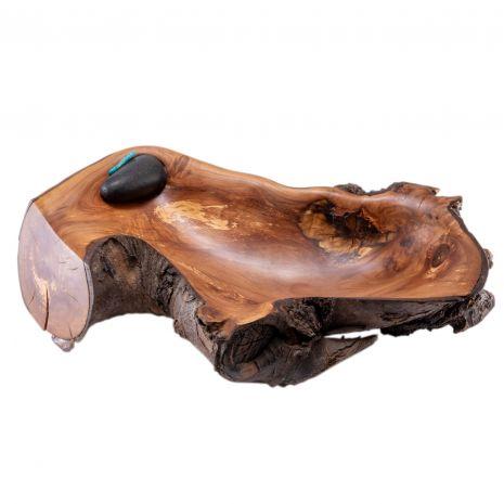 Wooden sculpture by Ken Ledonne