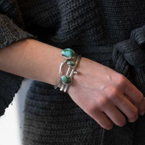 Carol Krena Royston Turquoise Cuff Set